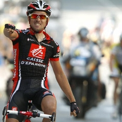 El ciclista David Arroyo, uno de los favoritos de la vuelta
