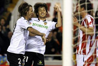 Silva ha vivido grandes momentos en el Valencia