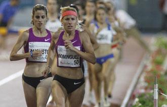 Marta Domínguez es una de las referencias del atletismo español para Odriozola