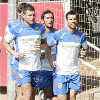 Los jugadores del Valencia ya est�n a las �rdenes de Emery