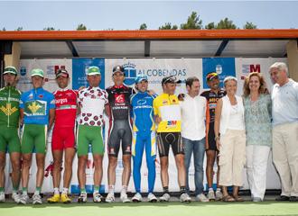 Algunos de los componentes de la Vuelta a Madrid.
