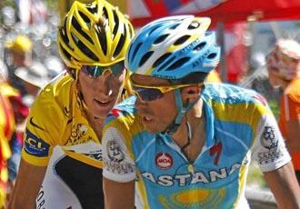 Contador fue incapaz de dejar de rueda a Andy