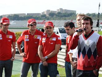 El a�o pasado las Finales Mundiales de Ferrari fue el escenario del estreno de Fernando Alonso como piloto oficial de la marca italiana