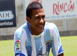 Rond�n espera convertirse en la referencia goleadora del nuevo M�laga