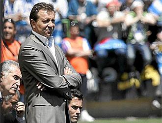 Jos� Carlos Granero, entrenador de la Ponferradina
