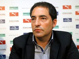 Antonio G�mez en rueda de prensa