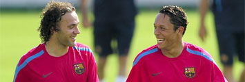 Milito y Adriano