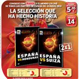DVD del Espa�a-PAraguay