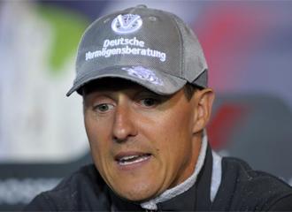 Schumacher, en rueda de prensa