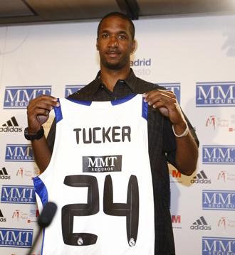 Clay Tucker lucir� el '24' en el Madrid