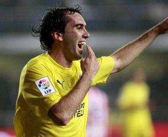 God�n, en un partido con el Villarreal