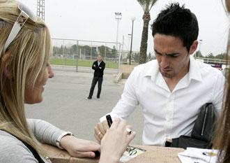 Vicente espera que este a�o le respeten las lesiones de una vez por todas