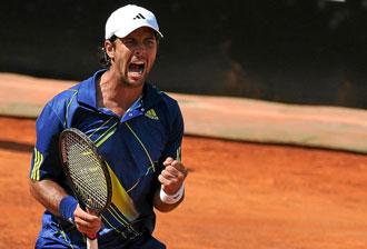 Fernando Verdasco contin�a en el 'top 10' a pesar de sus discretos resultados desde Roland Garros