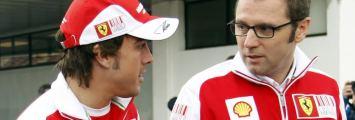 Alonso y Domenicali