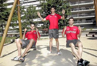 Kevin L�pez, Luis Alberto Marco y Davis Bustos, los espa�oles de los 800 metros