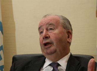 Julio Grondona, en una entrevista.