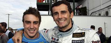 Alonso y De la Rosa en el 2006