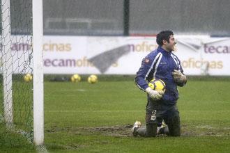 'Manu' podr�a ser el portero del Deportivo que comience la Liga