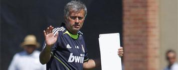 Mourinho junto a Cristiano