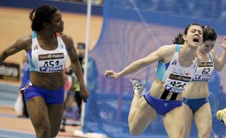 Ana Torrijos en los Campeonatos de Espa�a de pista cubierta