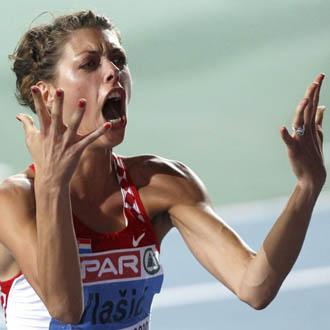 Vlasic consigui� hacerse con el oro con un salto de 2,03 metros