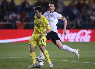 Marchena, durante un encuentro con el Valencia ante el que será su nuevo equipo