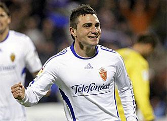 Adrián Colunga jugará la próxima temporada en el Getafe.