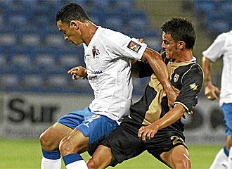 Cigarini durante un partido ante el Zaragoza.
