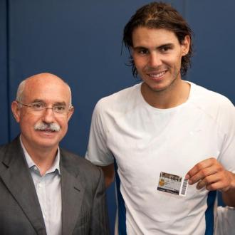 Serra realiz� estas declaraciones poco despu�s de entregar el carn� de socio a Rafael Nadal