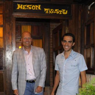 Ambos protagonistas fueron cazados por MARCA a la salida de un conocido restaurante madrile�o