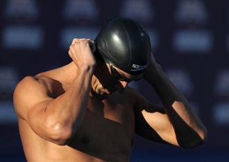 Phelps se prepara para los 200 estilos