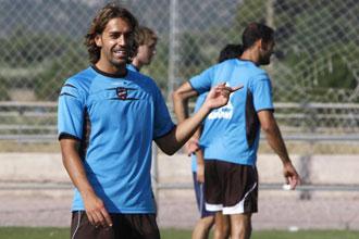 Miguel P�rez, ya recuperado, ha podido regresar a los entrenamientos