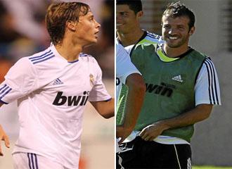 Canales y Van der Vaart son las �nicas opciones que le quedan a Mourinho para suplir la baja de Kak� en la posici�n de mediapunta del Real Madrid.