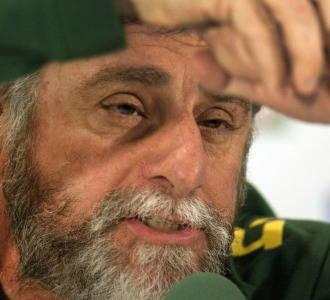 Jose Luiz Runco, m�dico de la selecci�n brasile�a