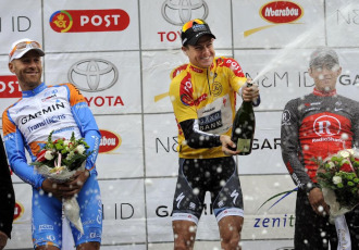 Los tres mejores de la Vuelta a Dinamarca