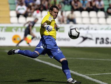 Jorquera saca de puerta con el Girona