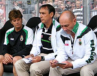Portugal, en un partido del Racing esta pretemporada
