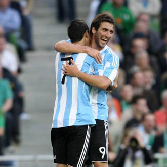 Los dos madridista fueron los art�fices del gol