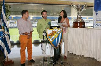 La presentaci�n del trofeo Costa del Sol