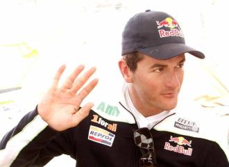 Coma, durante el pasado Rally Dakar