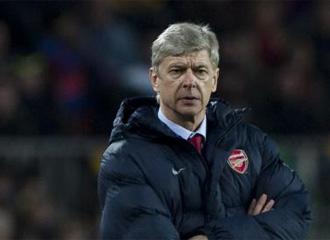 Ars�ne Wenger, entrenador del Arsenal