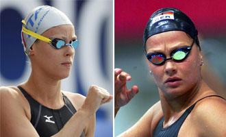 Federica Pellegrini ha superado la �ltima plusmarca de la antigua estrella alemana Franziska van Almsick, el de los 200 metros libres de los campeonatos.