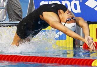 La valenciana no realiz� una buena salida, pero remont� en los metros finales