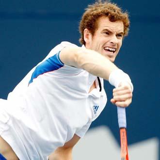 Murray no fall� con su servicio y se llev� la victoria
