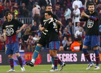 Los cuatro nominados del Barcelona para el mejor jugador de club.