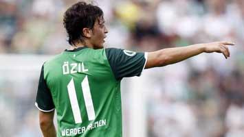 �zil jugando con el Werder