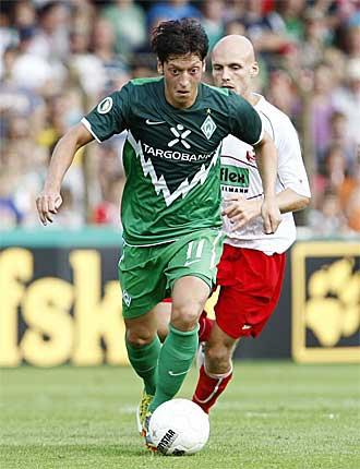 Ozil es la gran esperanza del Werder Bremen si al final no es traspasado al Real Madrid.