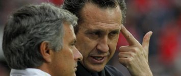 Mourinho dialoga con Valdano