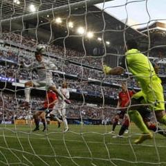 Ricardo juega un partido contra el Real Madrid de la temporada pasada