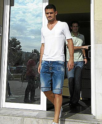 El jugador griego, tras pasar el reconocimiento médico